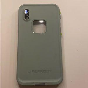iPhone X Lifeproof Fre